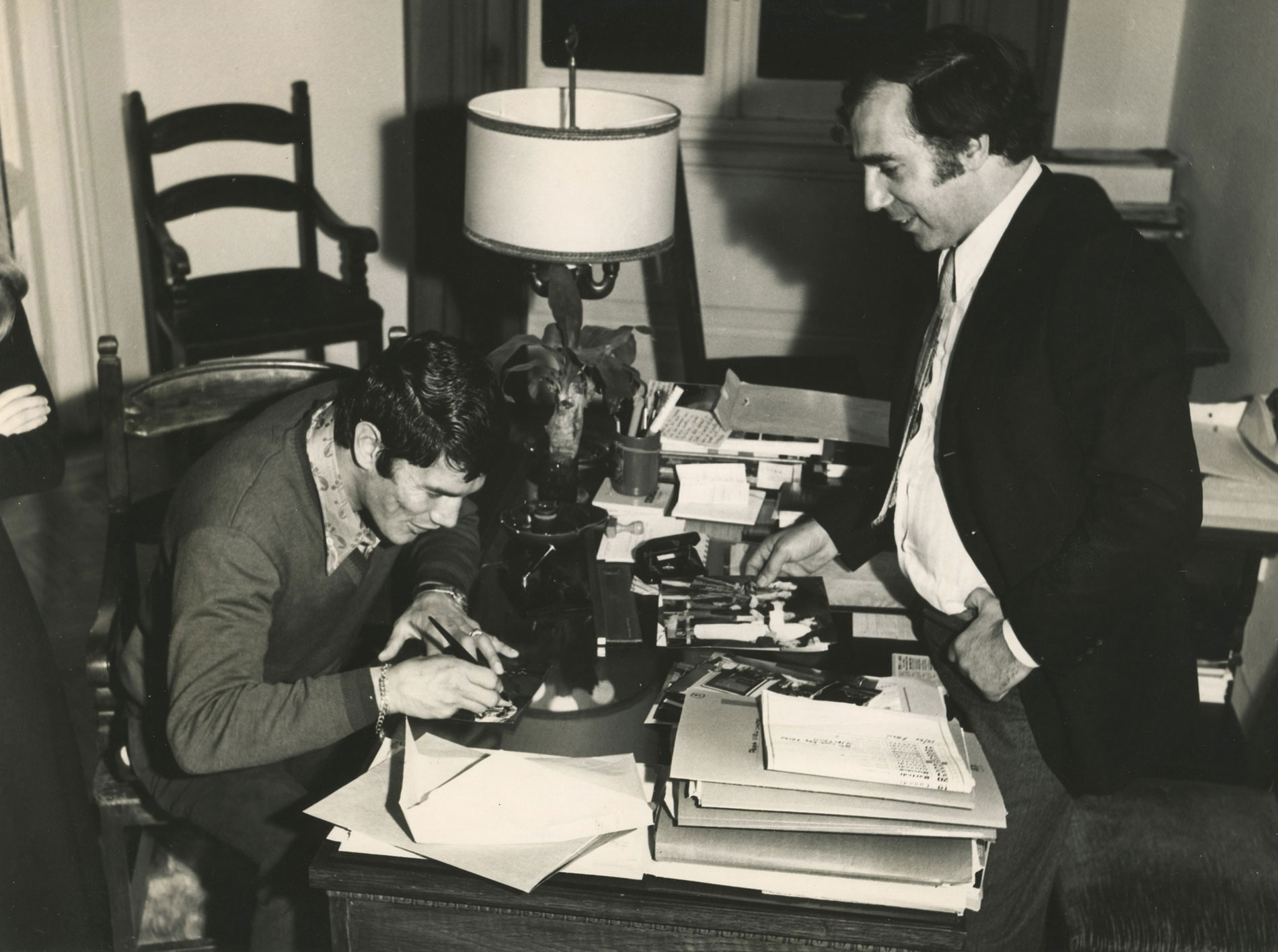 Julio Le Parc y Federico Brook e Monzon